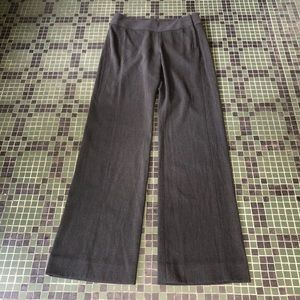 CAbi Wide Leg Gray Trousers Size 4